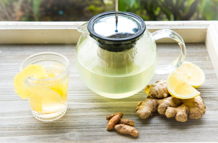 ginger turmeric tea