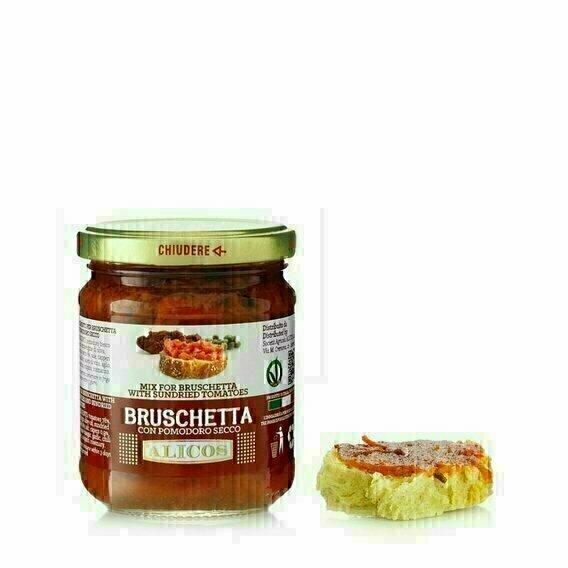 Sauce bruschetta aux tomates séchées 190g