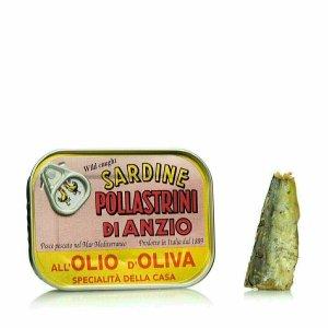 Sardines à l'Huile d'Olive 100g