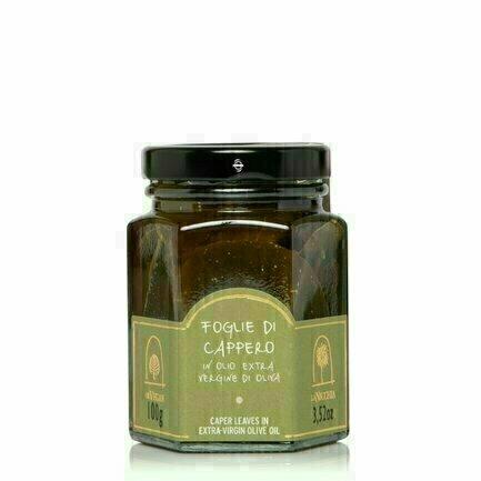 Feuilles De Câpres À L'huile D'olive Extra vierge 100g