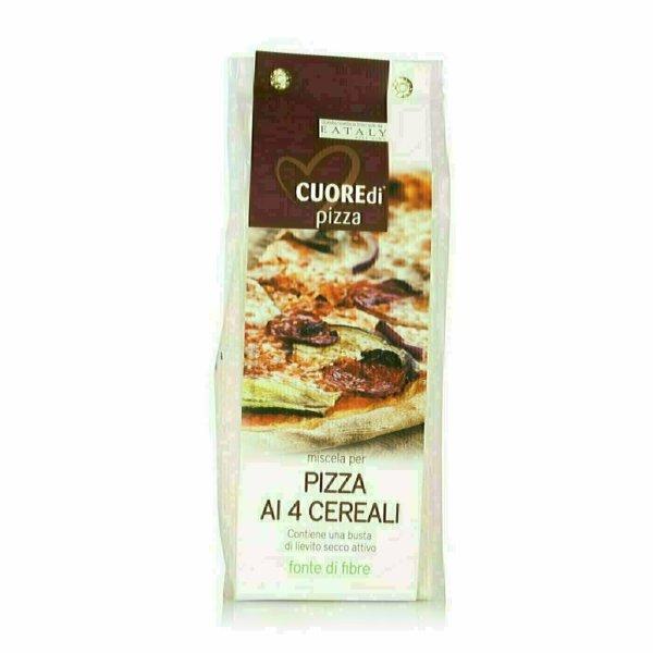 Preparation pour Pizza aux 4 Céréales 500g