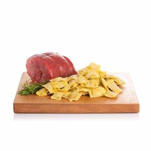 Agnolottis quadrati aux trois viandes rôties 300g