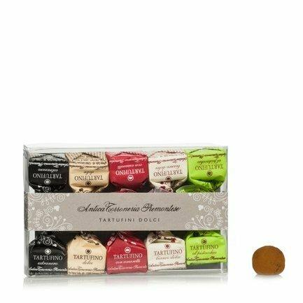 Boite de truffes au chocolat variées 70g