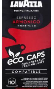 Café Lavazza eco caps espresso armonico 10 capsules