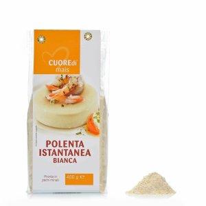 Polenta instantanée blanche 400g