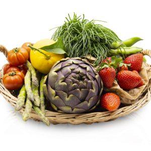 Panier Fruits et légumes de saison