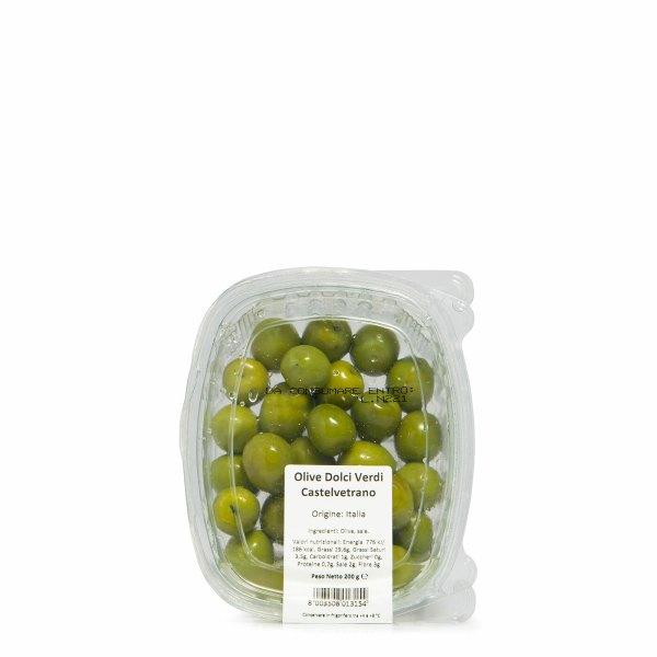 Olives douces de Castelvetrano 200g