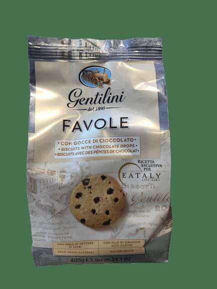 Biscuits Favole aux pépites de chocolat  400g