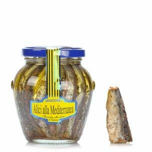 Filets d'anchois à la Méditerranéen 300g