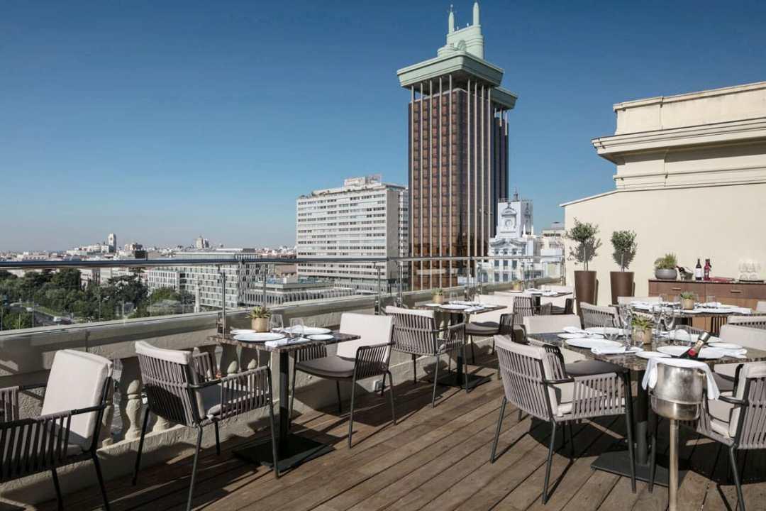 Las Mejores Terrazas de Madrid ¡Para los Grandes Gourmets!