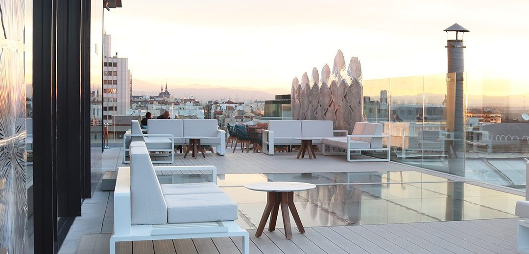 mejores terrazas Madrid - Gyngko Skybar