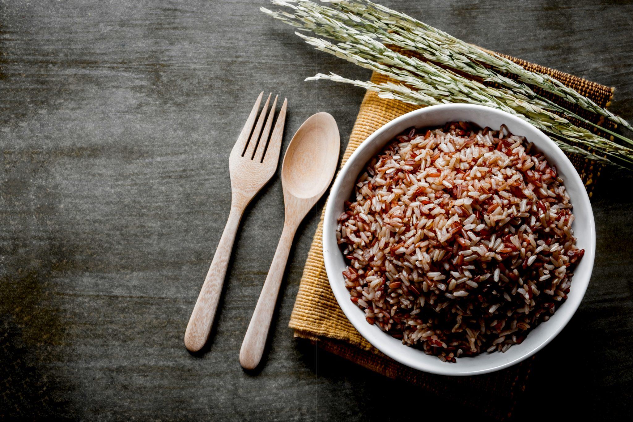炊き立ての玄米