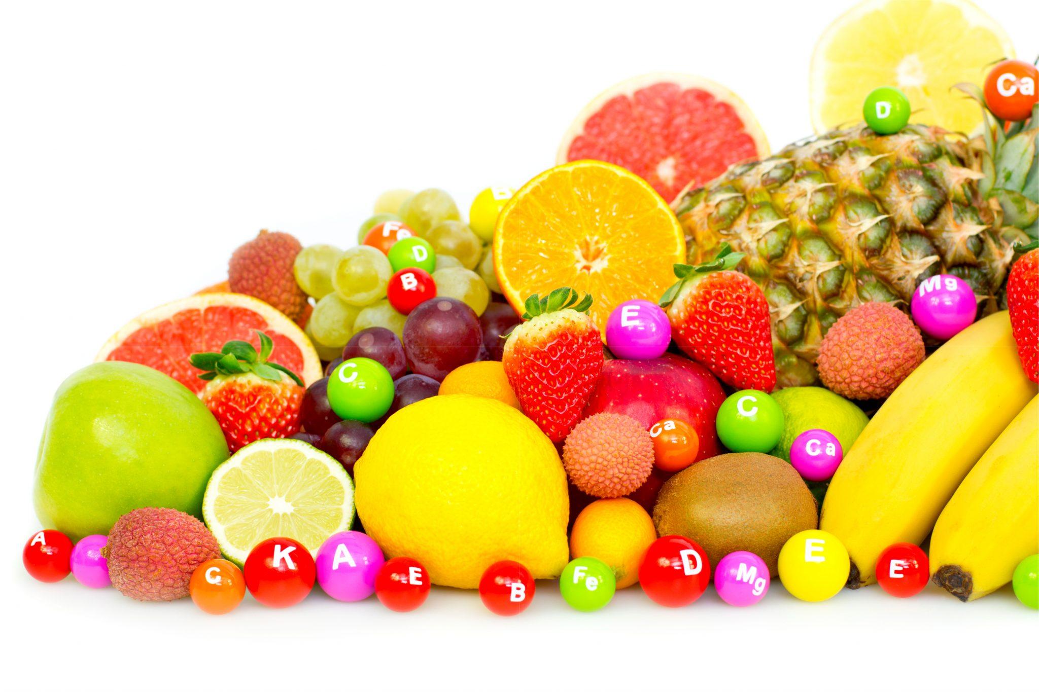 ビタミンたっぷりのフルーツ
