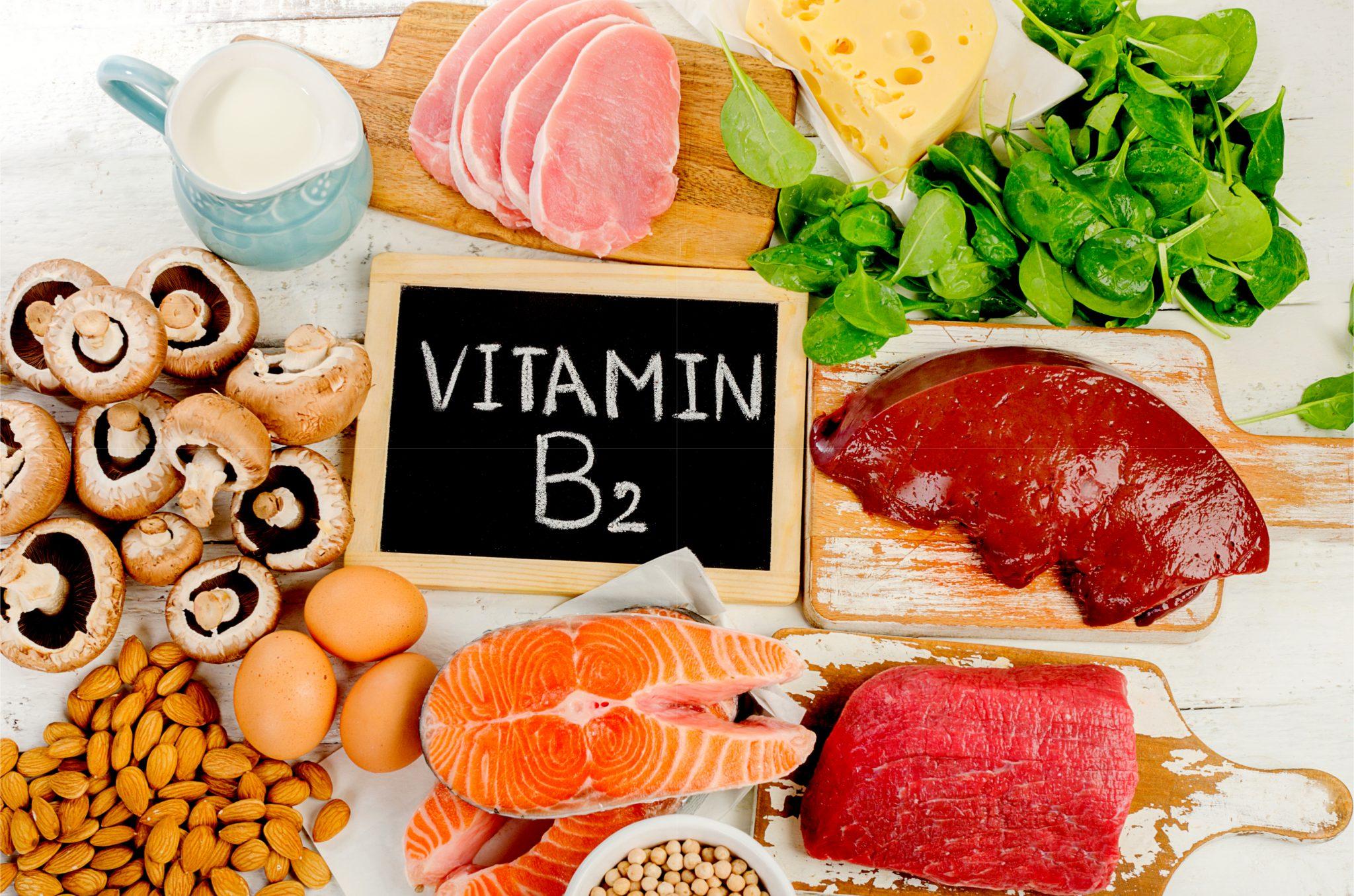 ビタミンB2を多く含む食べ物一覧
