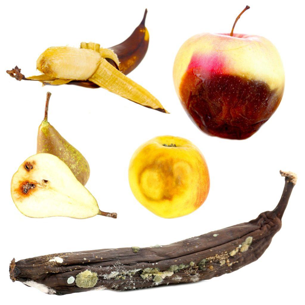 りんごが他の食材を腐らす