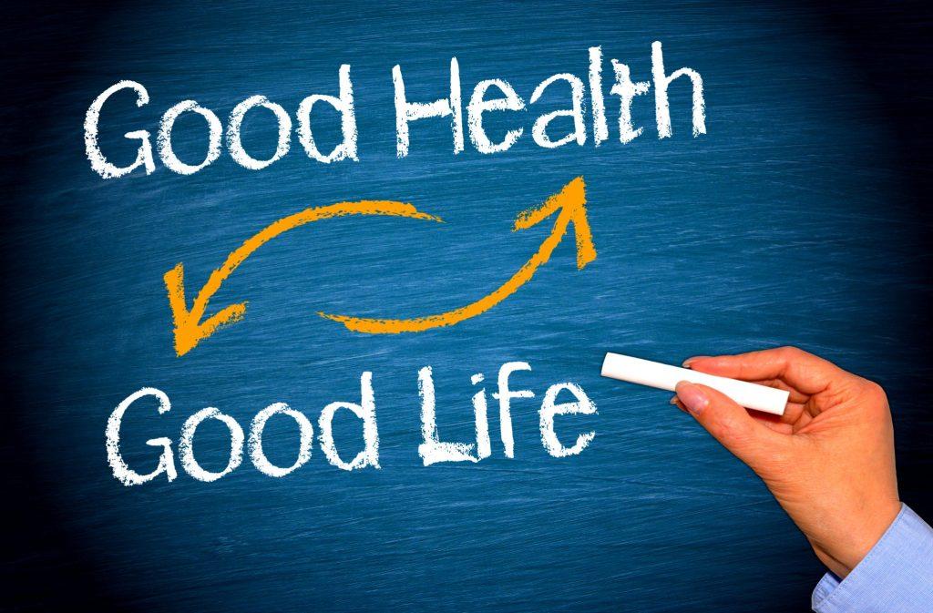 健康な食べ物が健康な生活になる