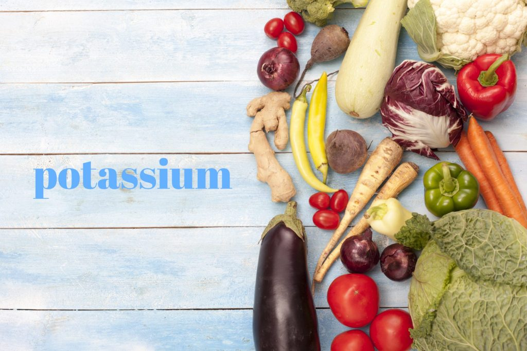カリフラワーとカリウム野菜