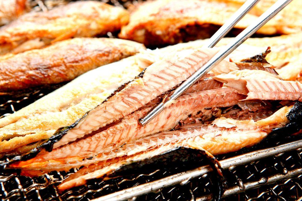 秋刀魚の身