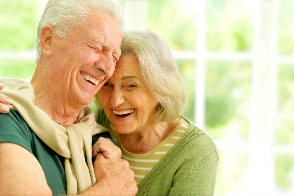 元気な老夫婦