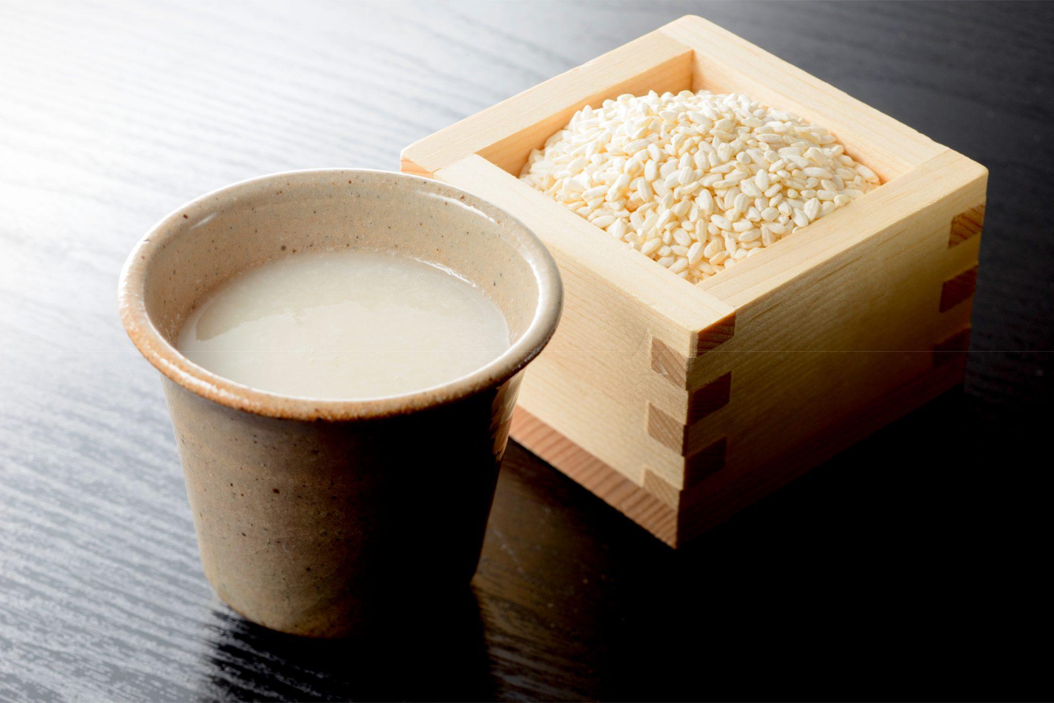 米麹タイプの甘酒