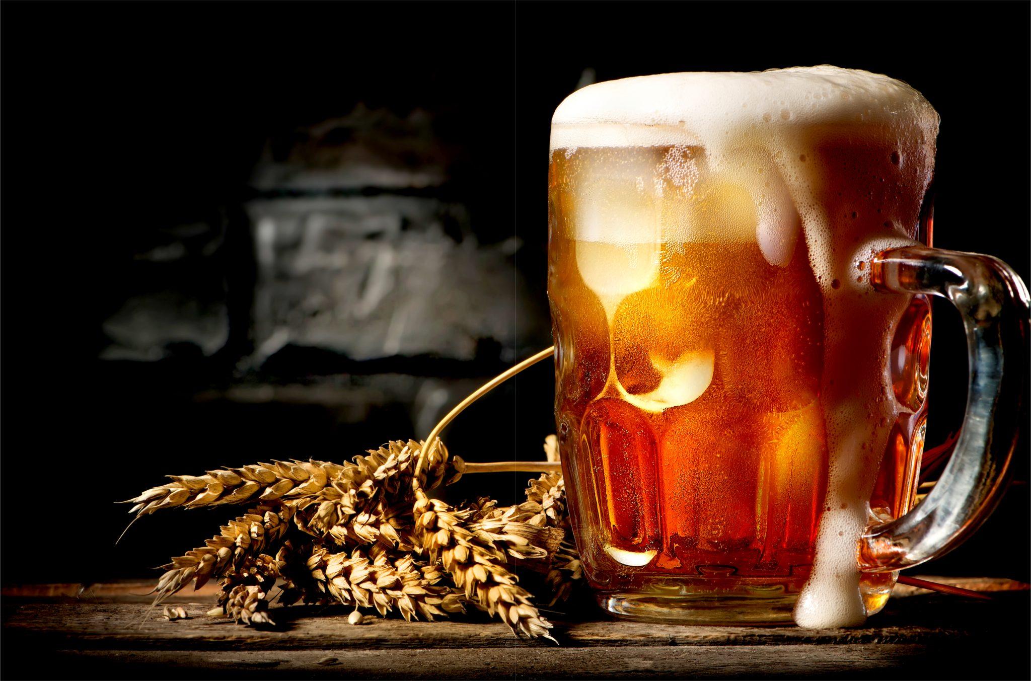 キンキンに冷えたドラフトビール