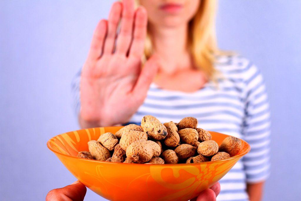 ピーナッツアレルギー