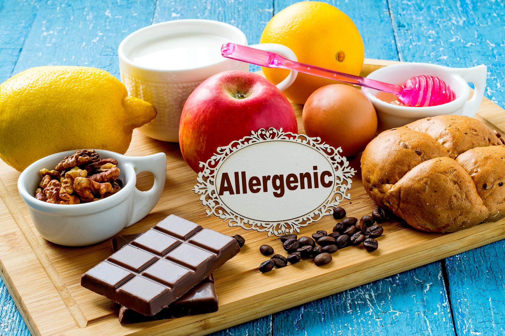 食物アレルギーの食品一覧