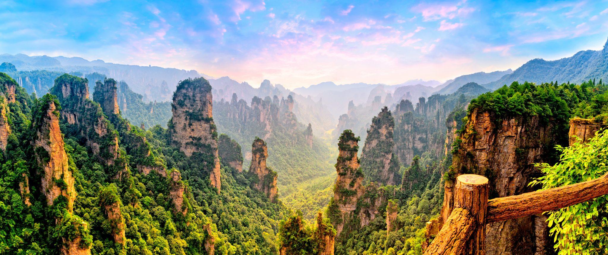 仙人が住んでいそうな中国の山奥