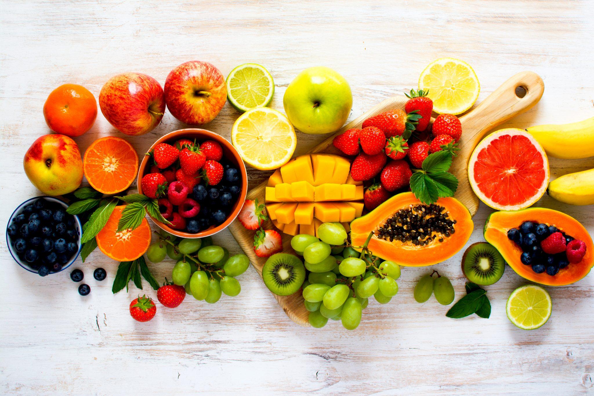 沢山の色んなフルーツ