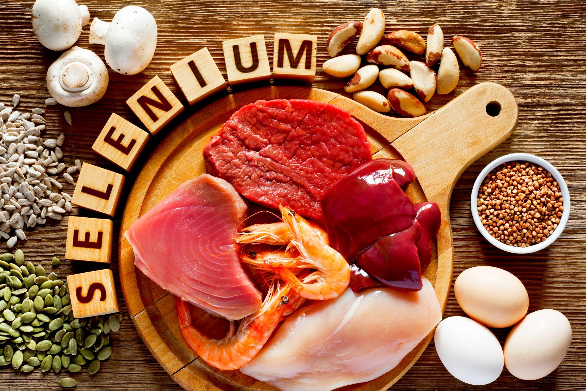 セレンを多く含む食べ物の一覧表