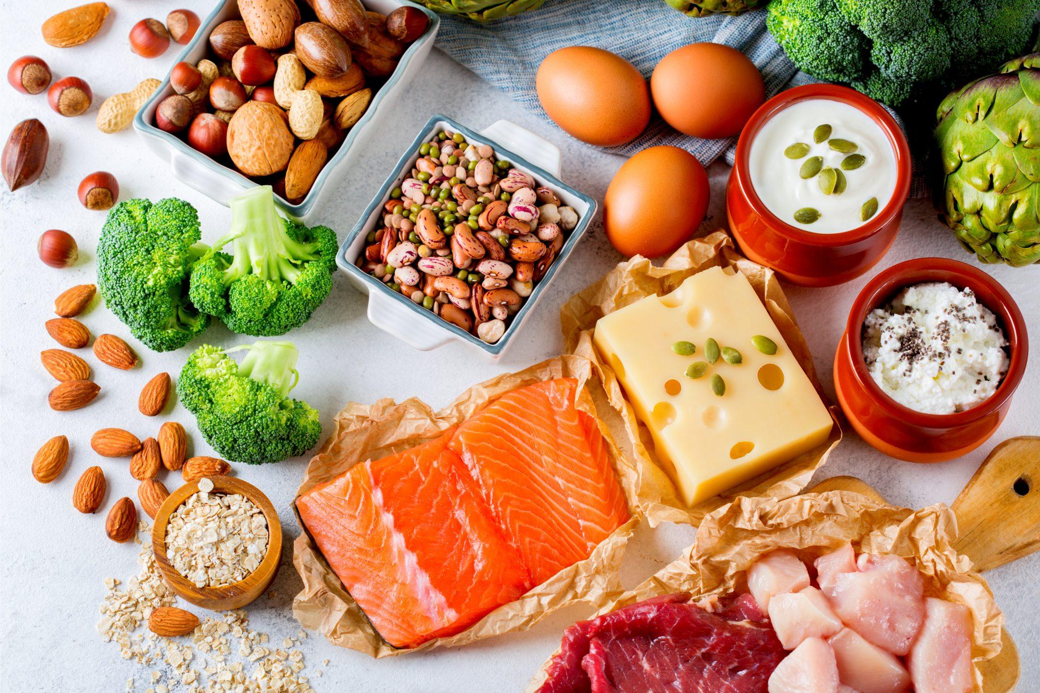 タンパク質を多く含む食品と食べ物一覧