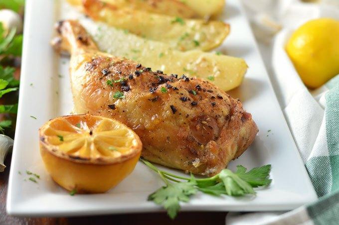 http://omgfood.com/greek-lemon-chicken-potatoes/