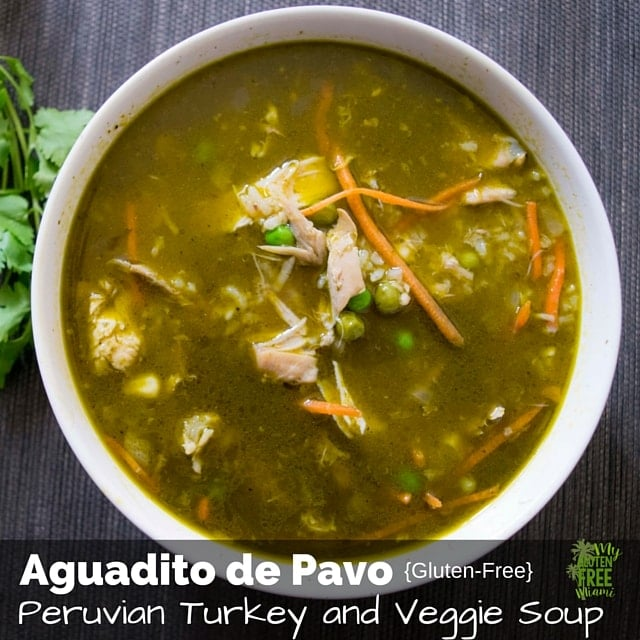 Peruvian Turkey and Vegetable Soup