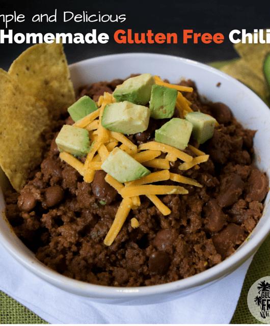 Homemade Gluten Free Chili