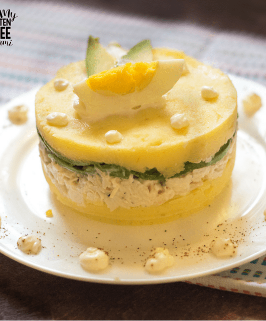 Peruvian Causa, Spicy Mashed Potatoes