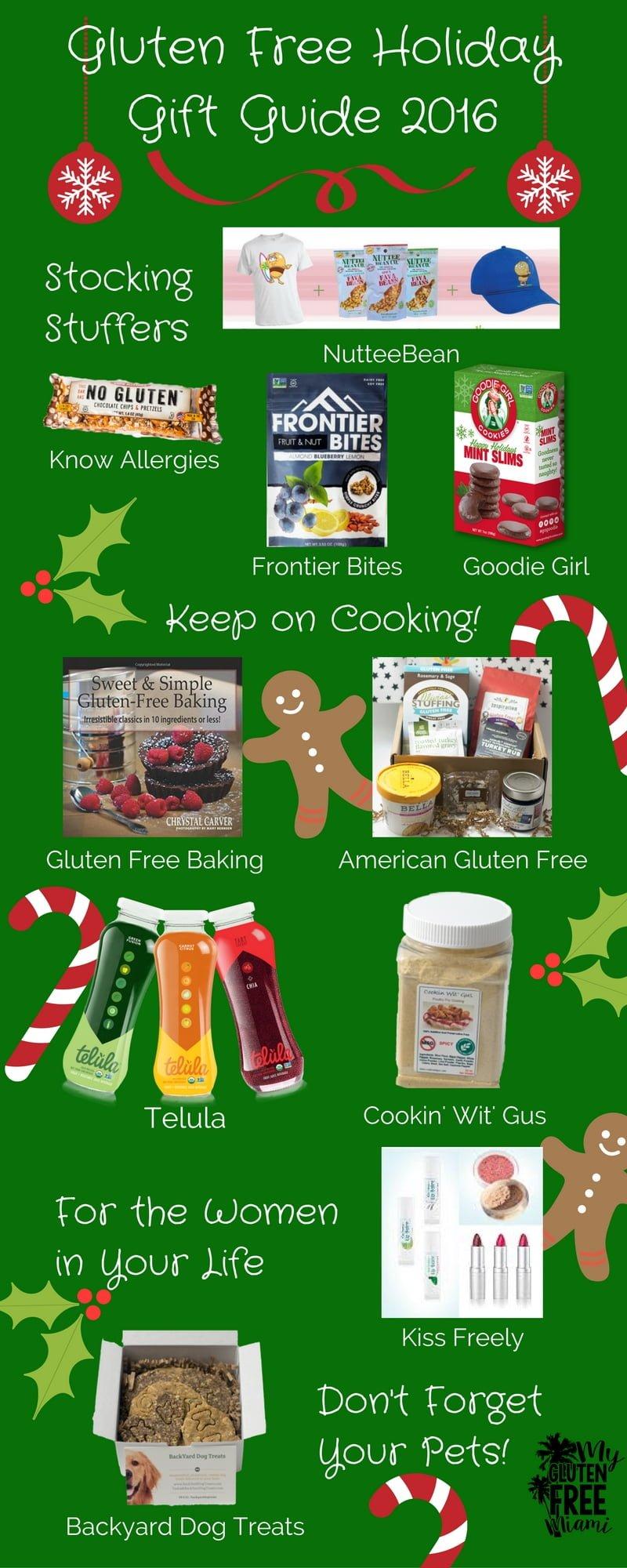 Gluten Free Gift Guide