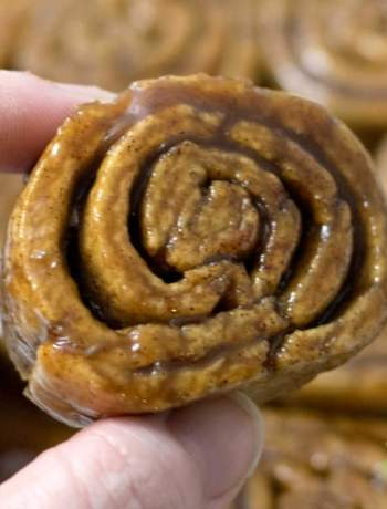 Gooey cinnamon rolls are the perfect start to any breakfast & they are Top 8 Allergen free!