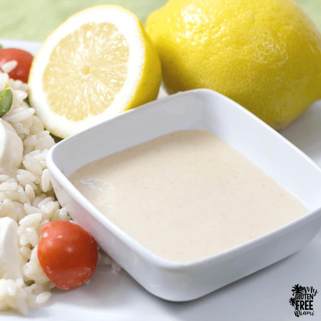 Lemon Tahini Gluten Free Salad