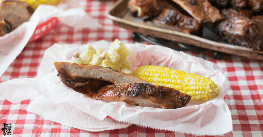 Easy Gluten Free Grilled Ribs
