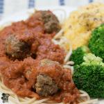 Gluten Free Spaghetti and Meatballs
