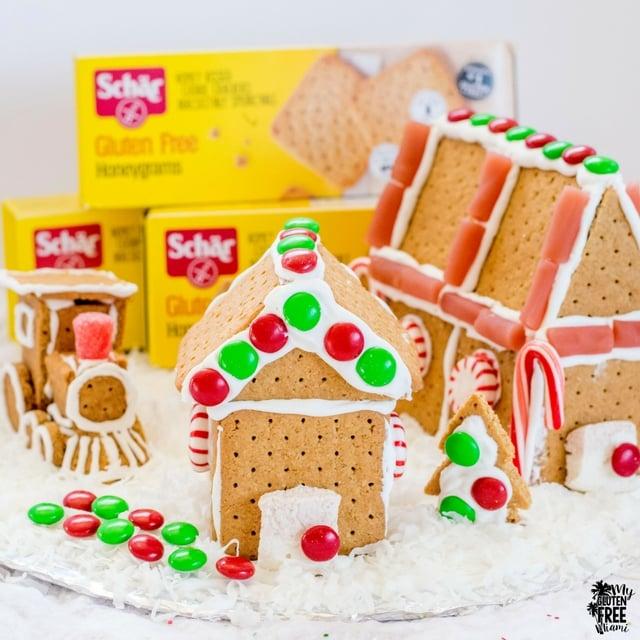 Schar Gluten Free Grahams Gingerbread House