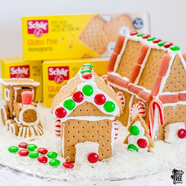 Schar Gluten Free Grahams Gingerbread House