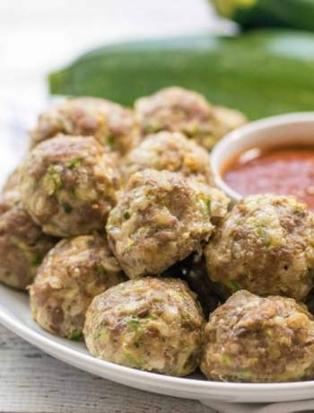 gluten free zucchini meatballs