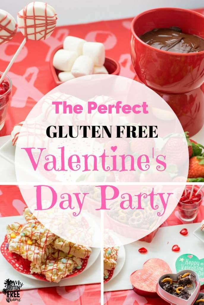 Gluten Free Valentine's Day Party