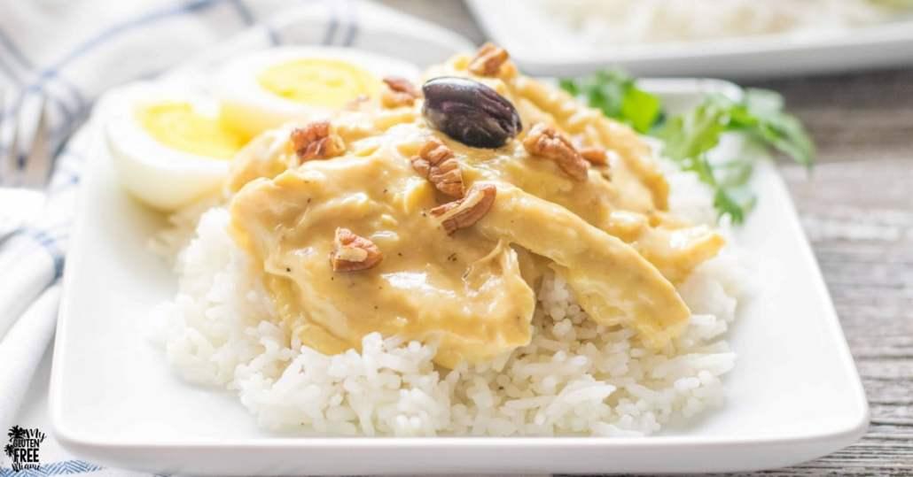 Peruvian Spicy Creamy Chicken Stew