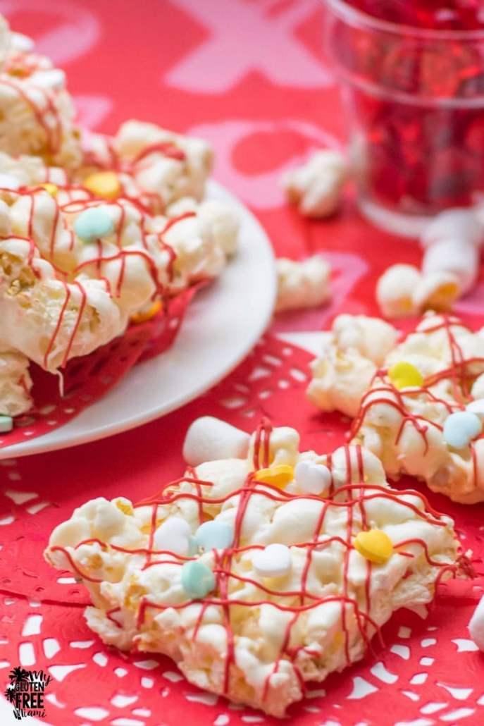 Marshmallow Popcorn Treat Bars