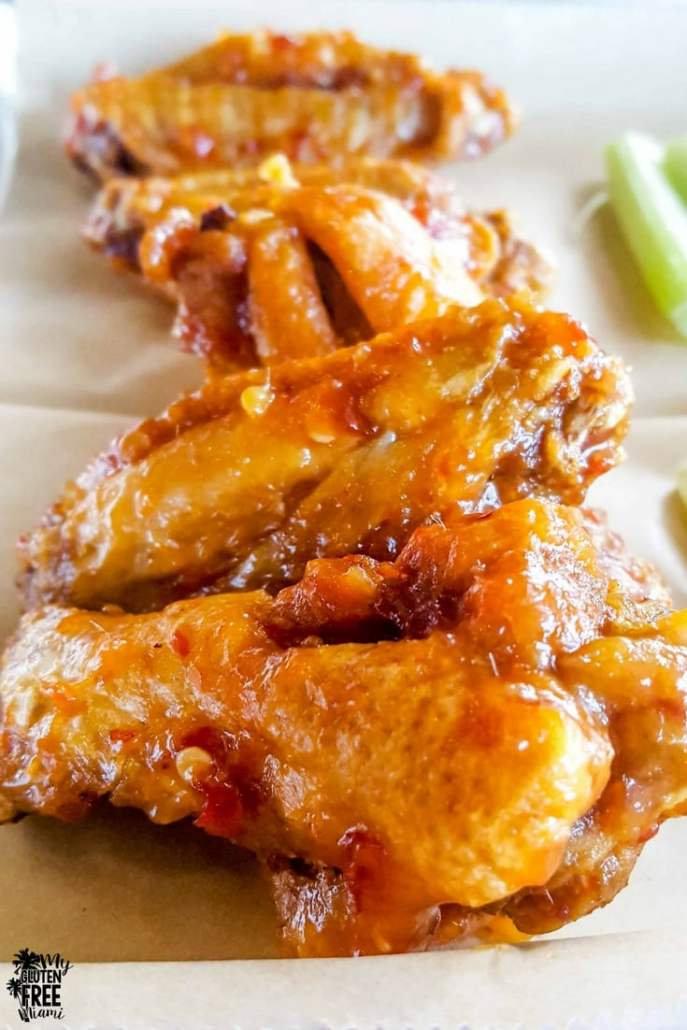 Shaddai 305 Wings on a plate
