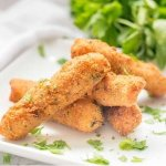gluten free croquetas on a plate