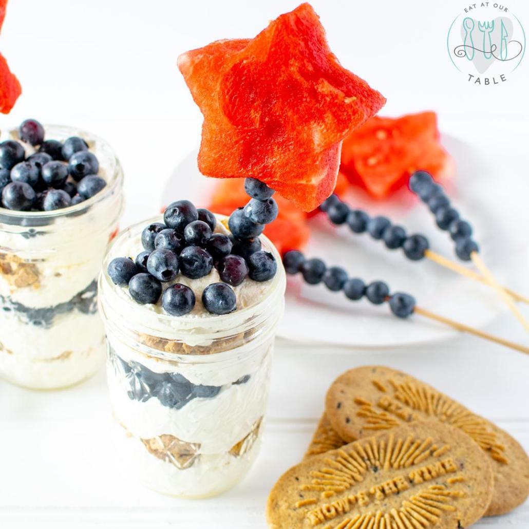 Gluten Free Blueberry Parfait