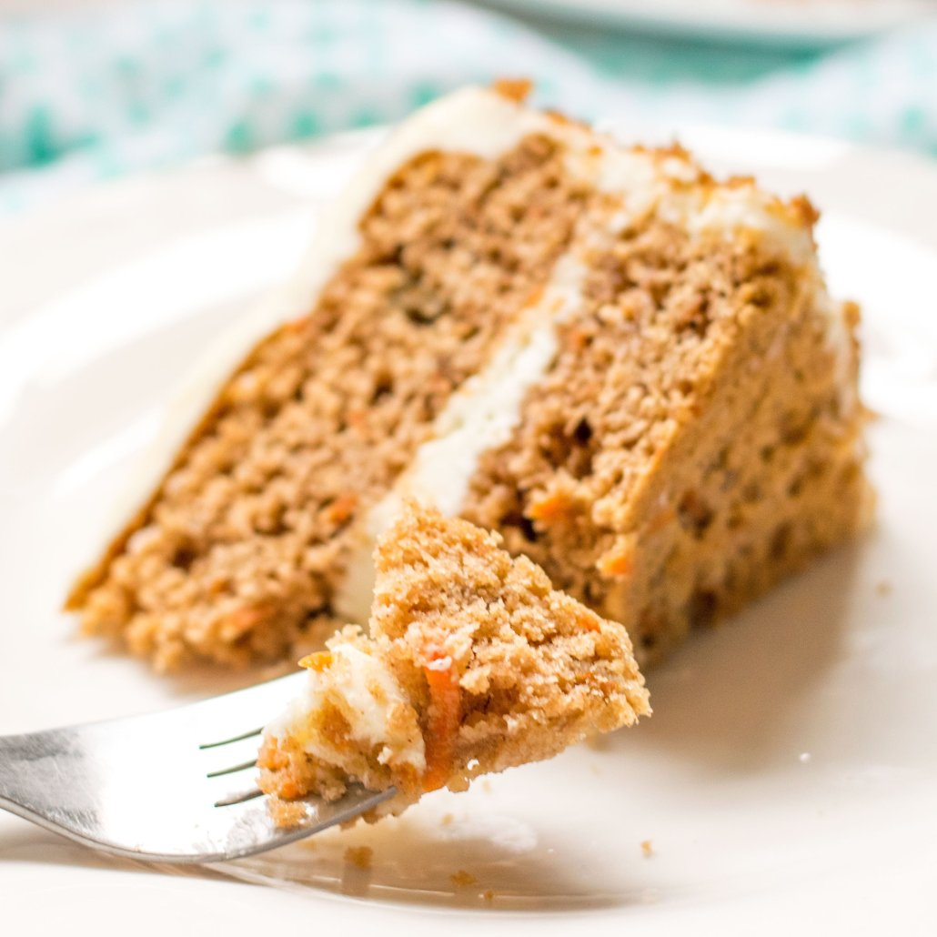 Gluten Free Carrot Cake  with no nuts